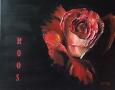 Bloemen drieluik - Roos