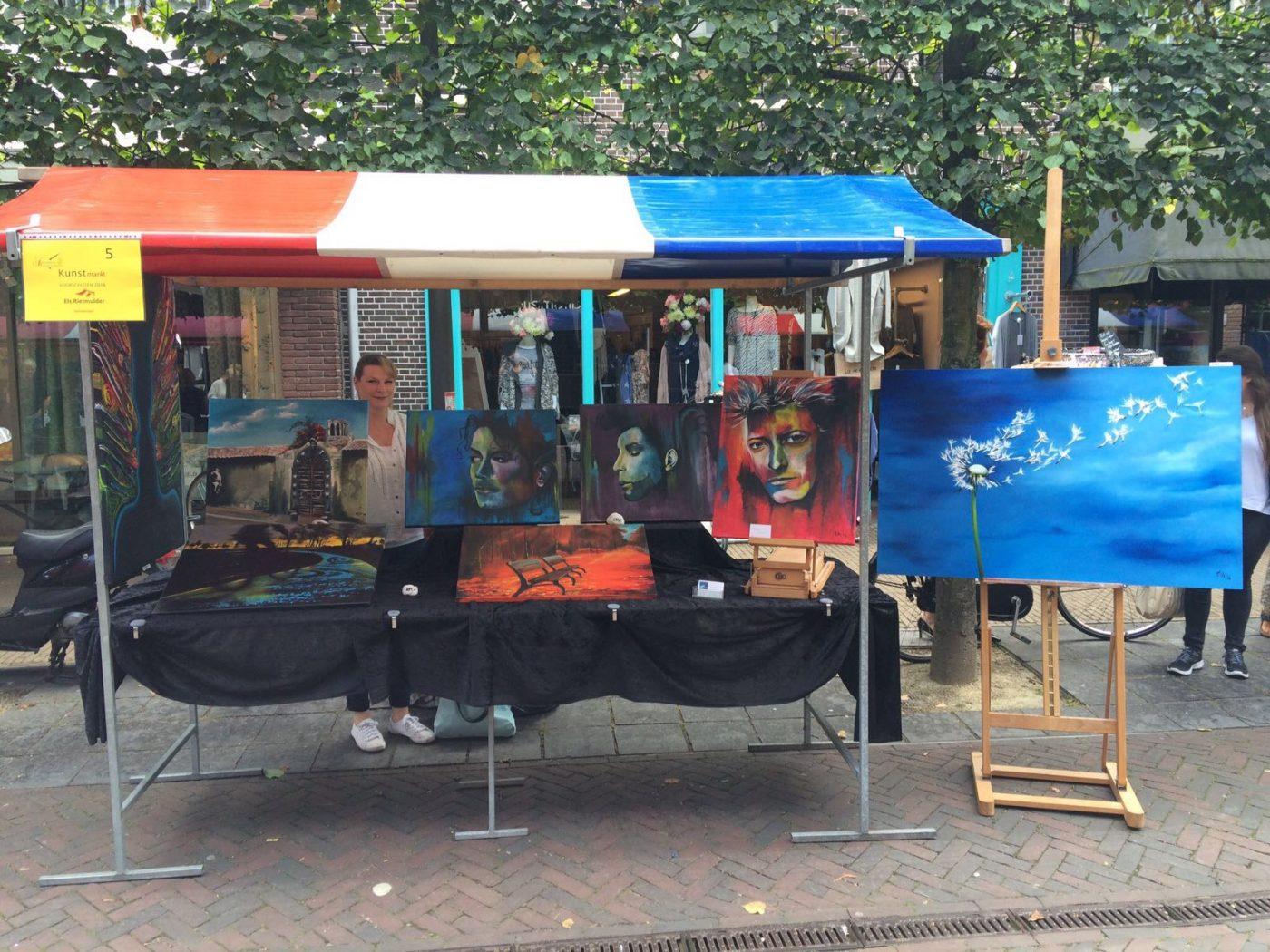 Kunstmarkt voorschoten 2016